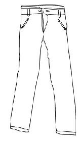 Un pantalón...