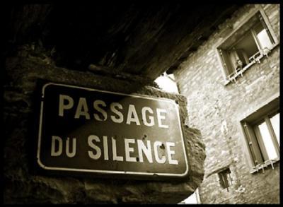 Silencio ensordecedor