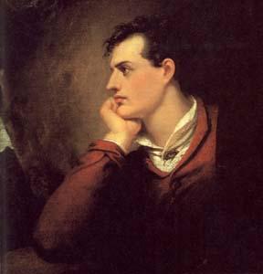 Byron, otro poeta. Un tío duro.